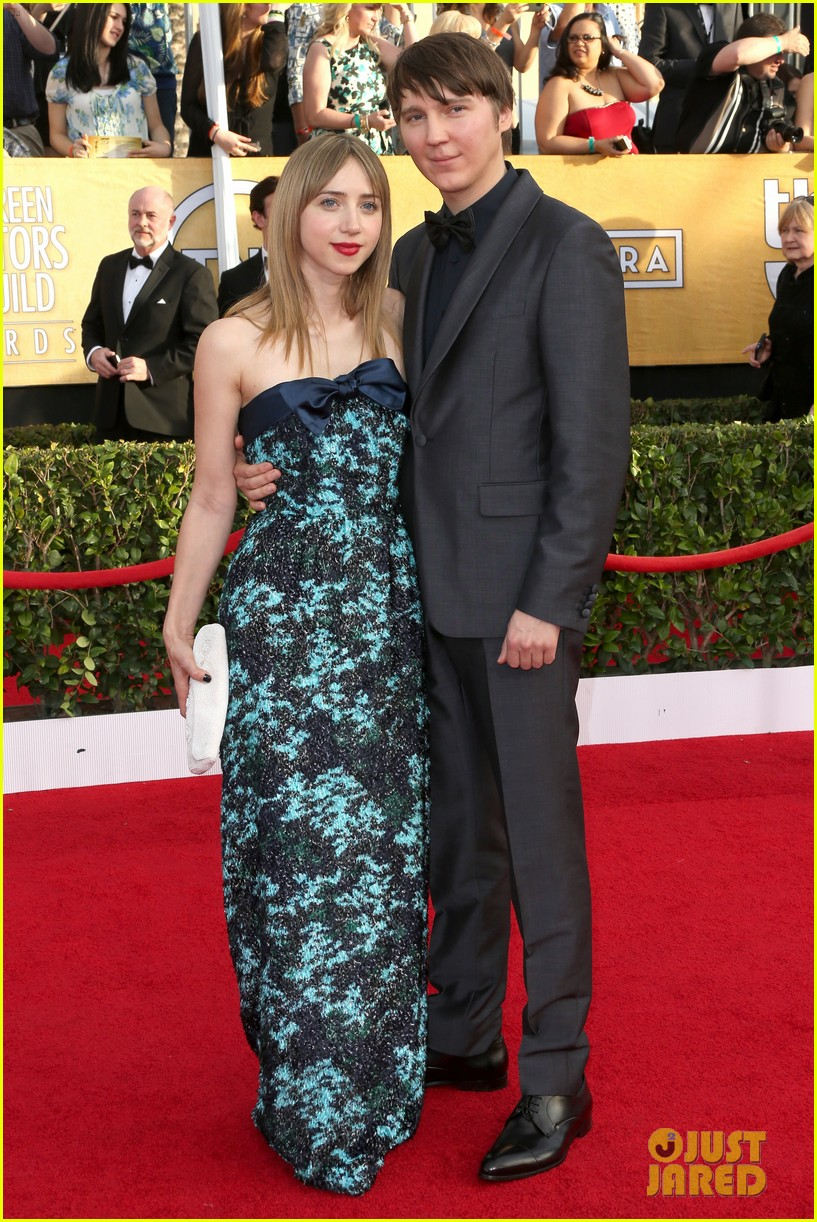 sarah paulson paul dano sag awards 2014 red carpet 053034607