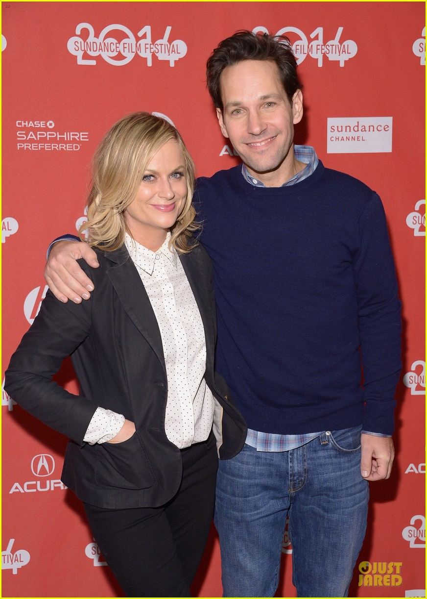 amy poehler paul rudd they came together sundance premiere 02