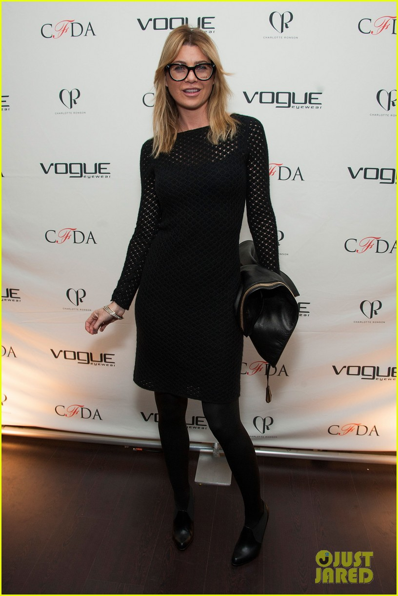 ellen pompeo vogue eyewear event 15