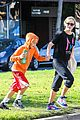 reese witherspoon busy saturday with son deacon 24