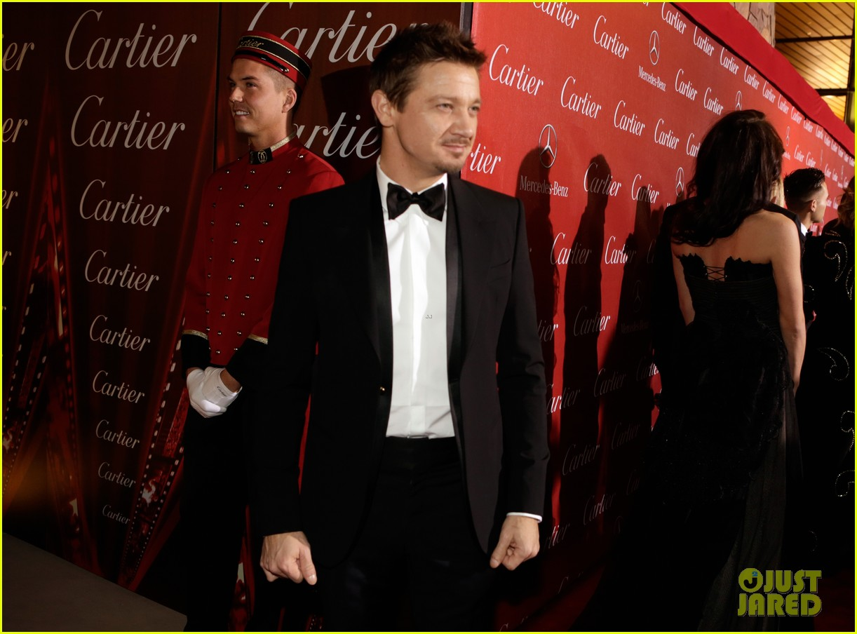 jeremy renner elisabeth rohm palm springs film festival awards gala 2014 03