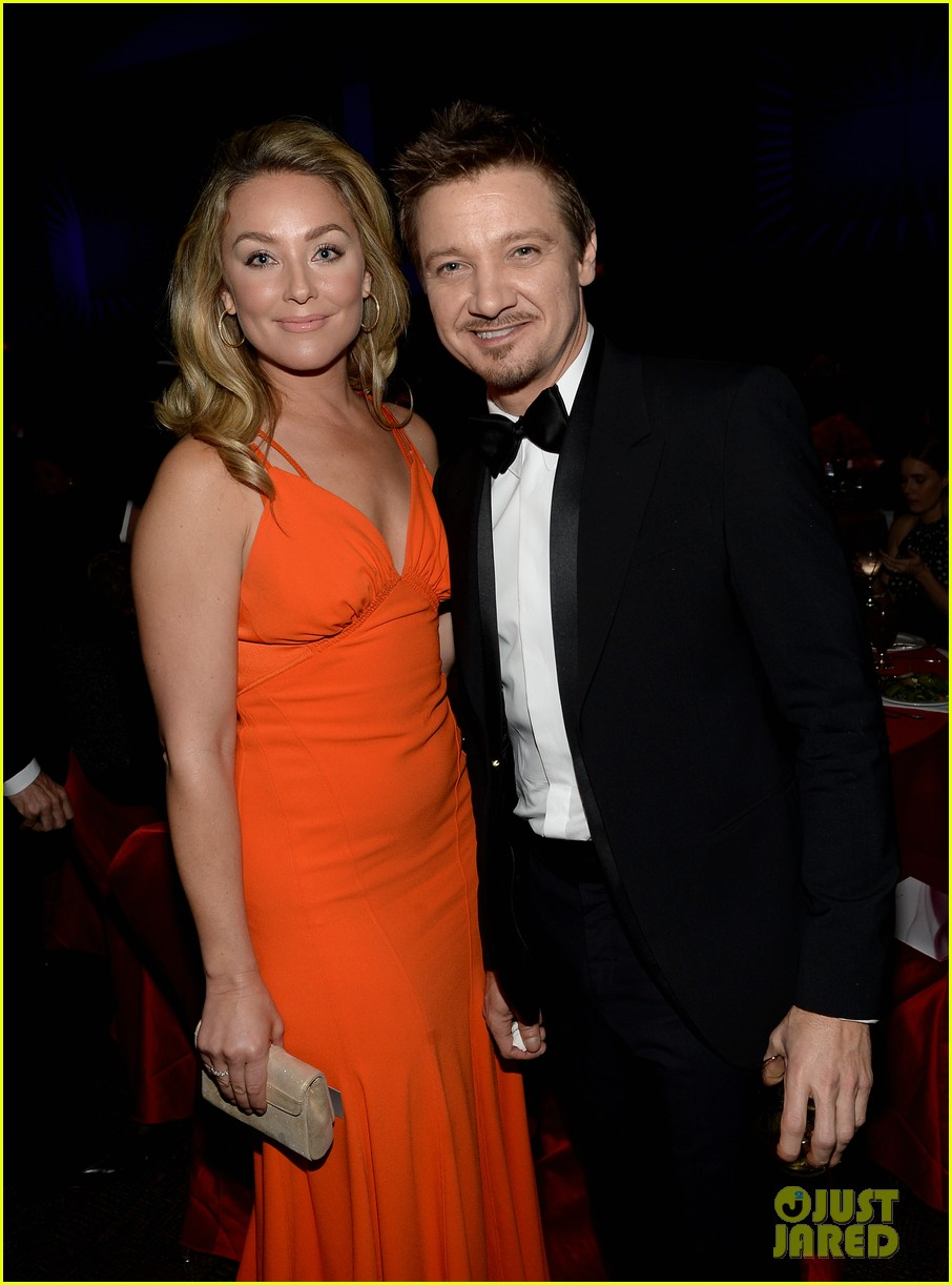 jeremy renner elisabeth rohm palm springs film festival awards gala 2014 163022826