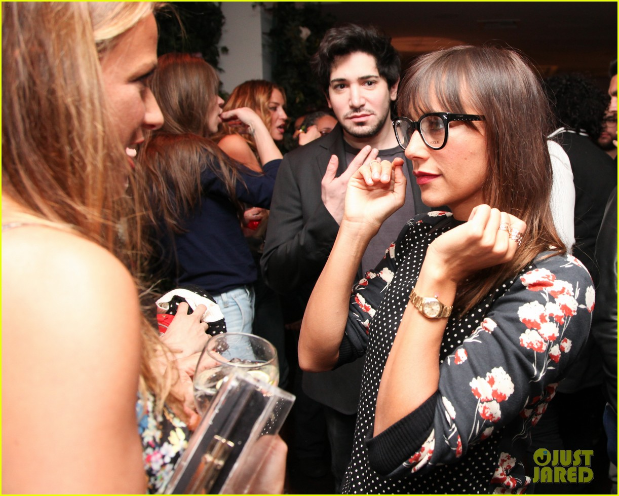 nicole richie rashida jones charlotte ronsons vogue eyewear launch party 093032021