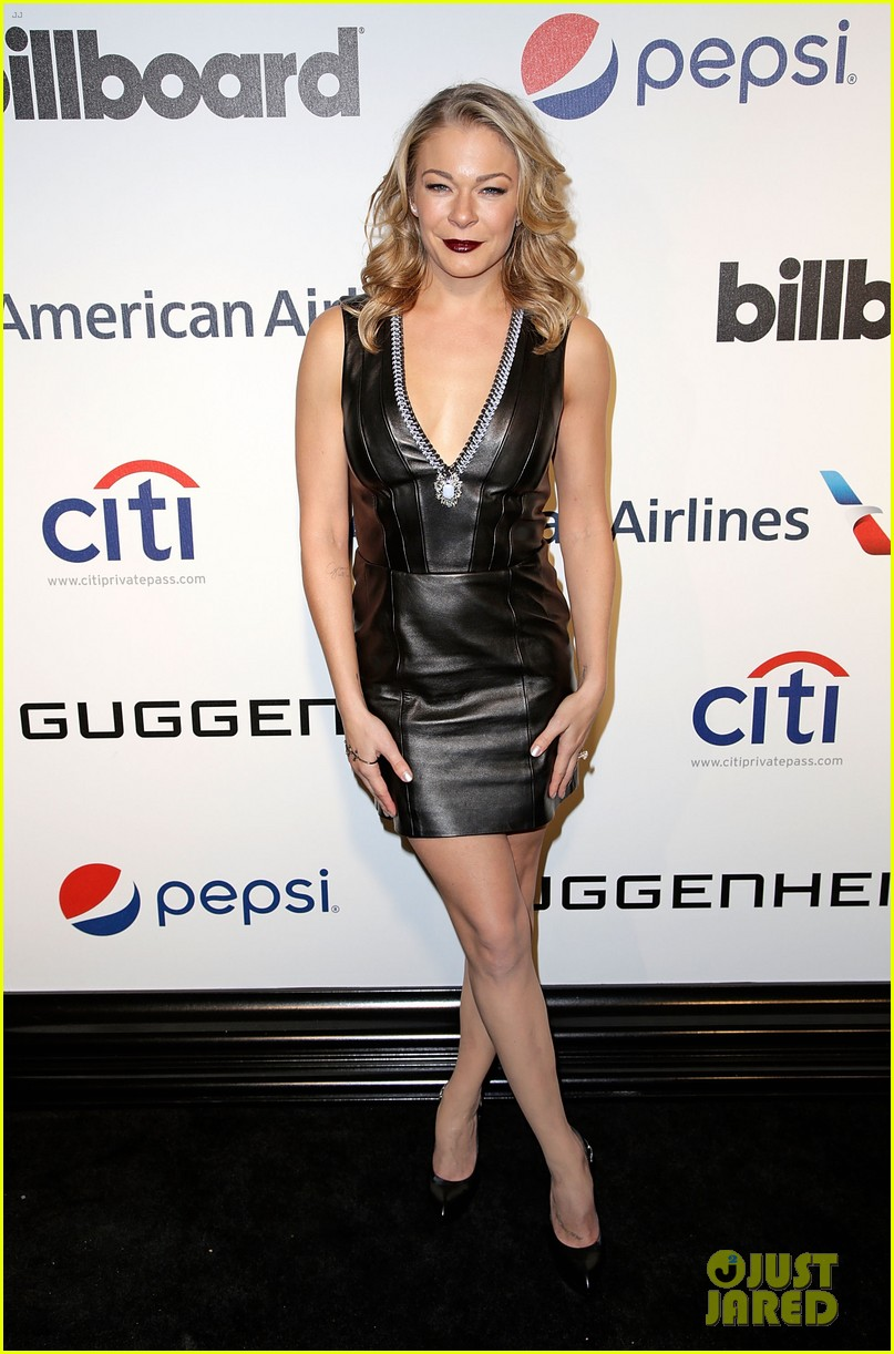 leann rimes billboards power 100 event with eddie cibrian 143038917