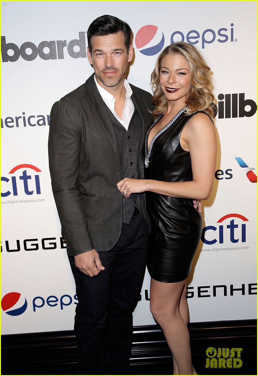 leann rimes billboards power 100 event with eddie cibrian 203038923