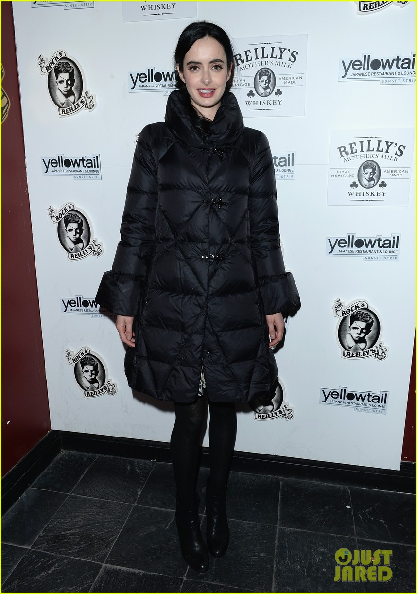krysten ritter yellowtail cocktail party after learning to ride at sundance 01