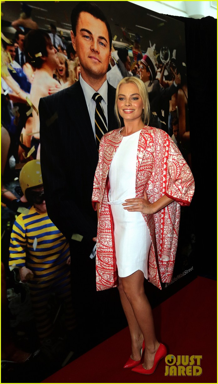 margot robbie wolf of wall street brisbane premiere 203036743