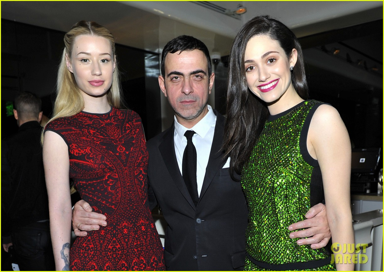 emmy rossum iggy azalea antonio berardi private dinner 113025211