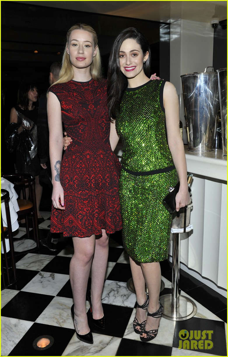 emmy rossum iggy azalea antonio berardi private dinner 213025221