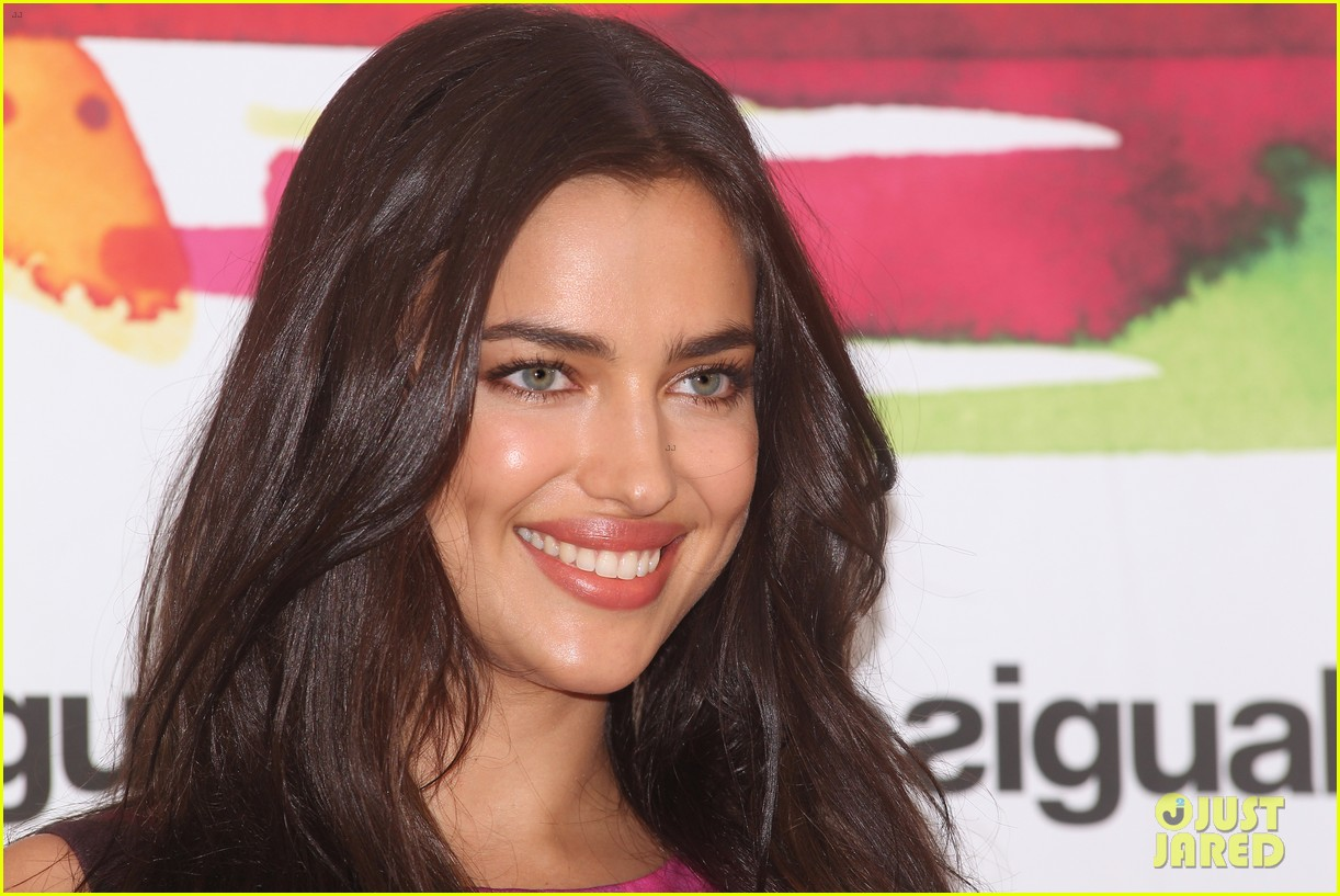 irina shayk presents new desigual campaign in spain 11