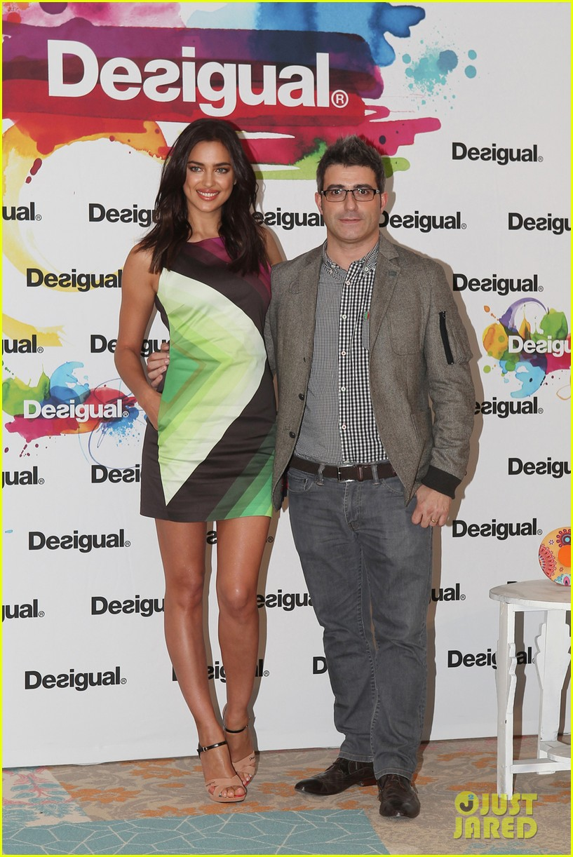 irina shayk presents new desigual campaign in spain 21