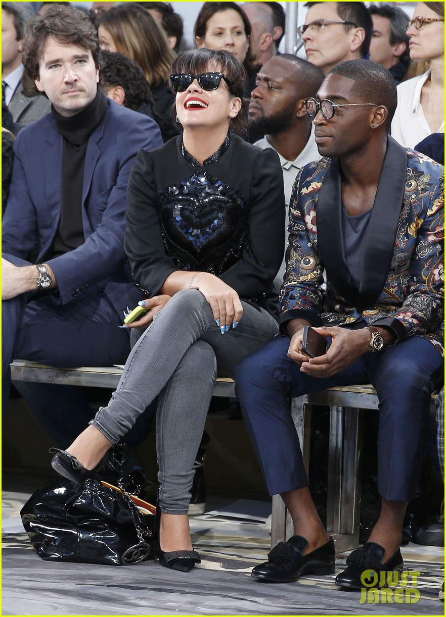 will smith lily allen louis vuitton fashion show 123032652