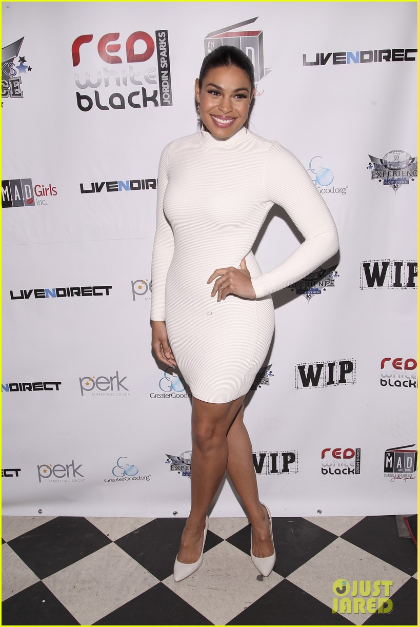 jordin sparks jason derulo red white black super bowl party 03
