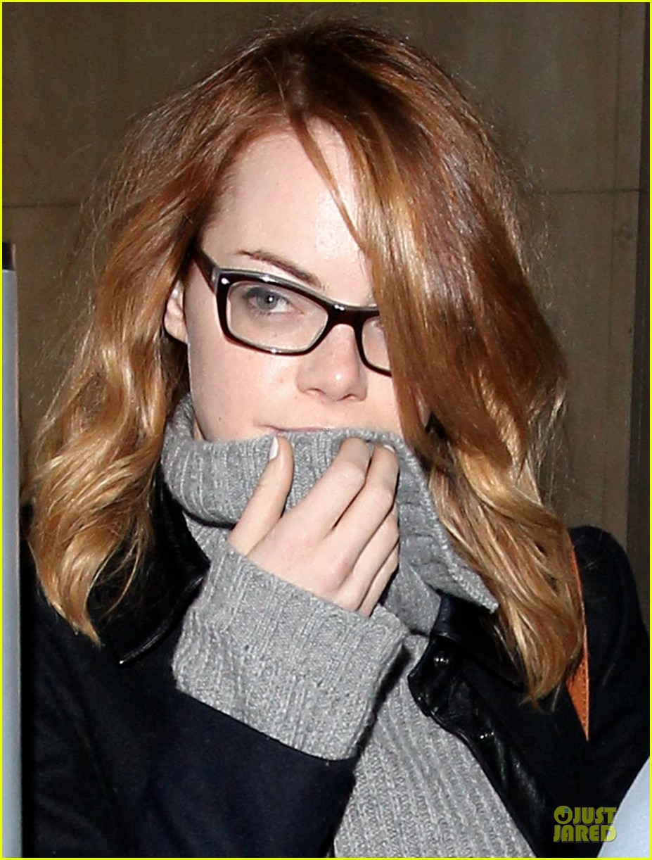 emma stone sports eyeglasses for lax landing 083037410