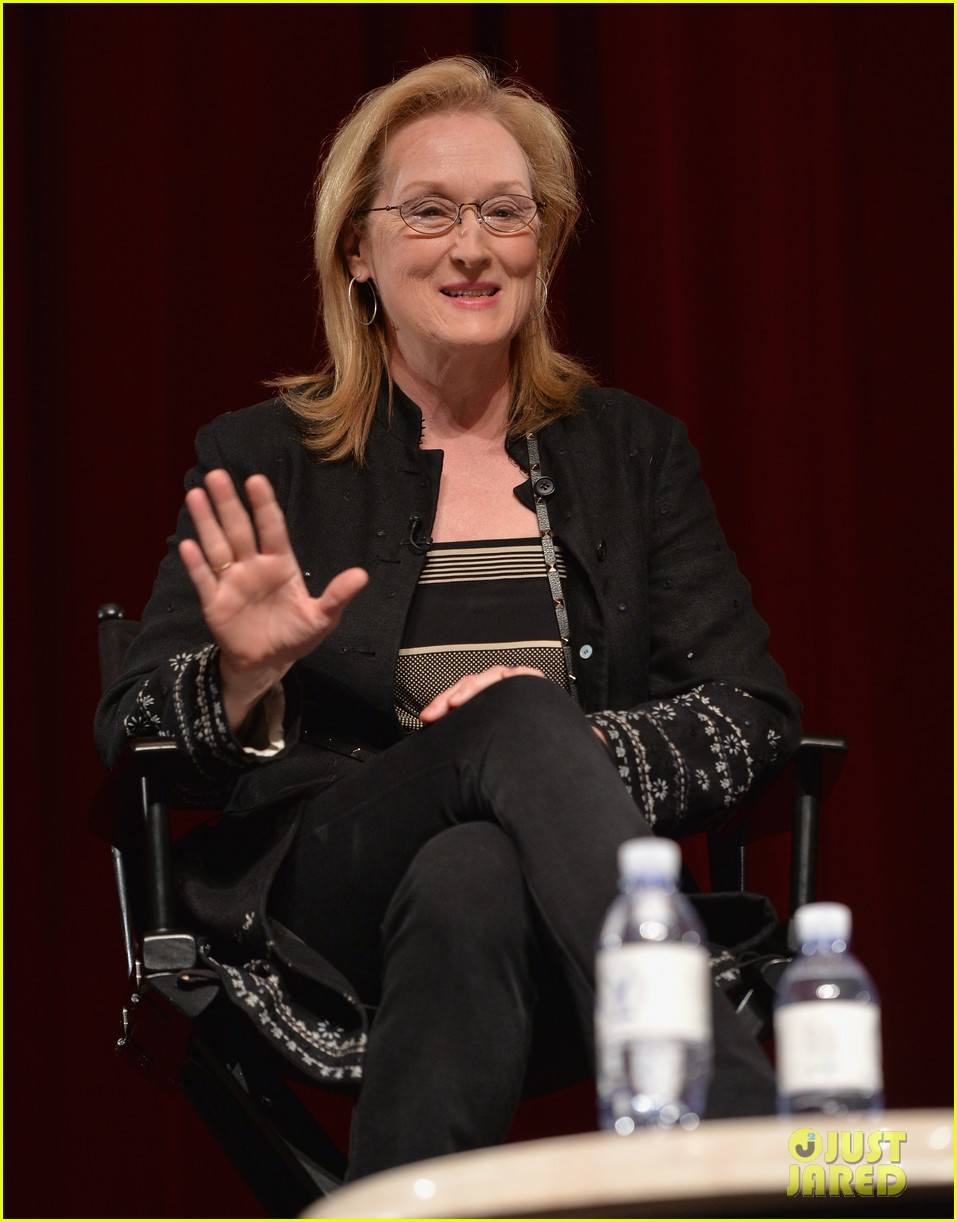 meryl streep august osage county l a screening 15