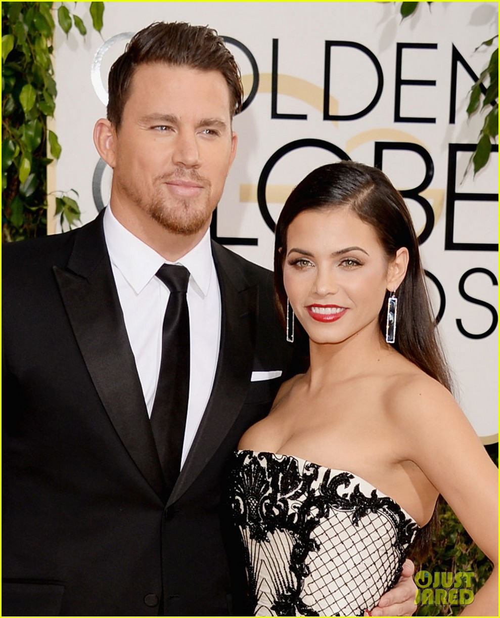 channing tatum jenna dewan golden globes 2014 red carpet 05