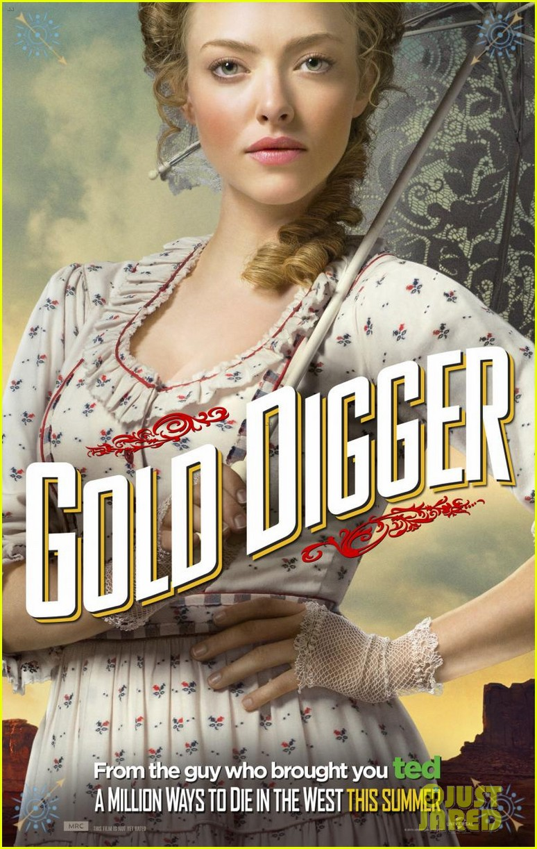 charlize theron is the smoking gun on million ways to die in the west character posters 043043710