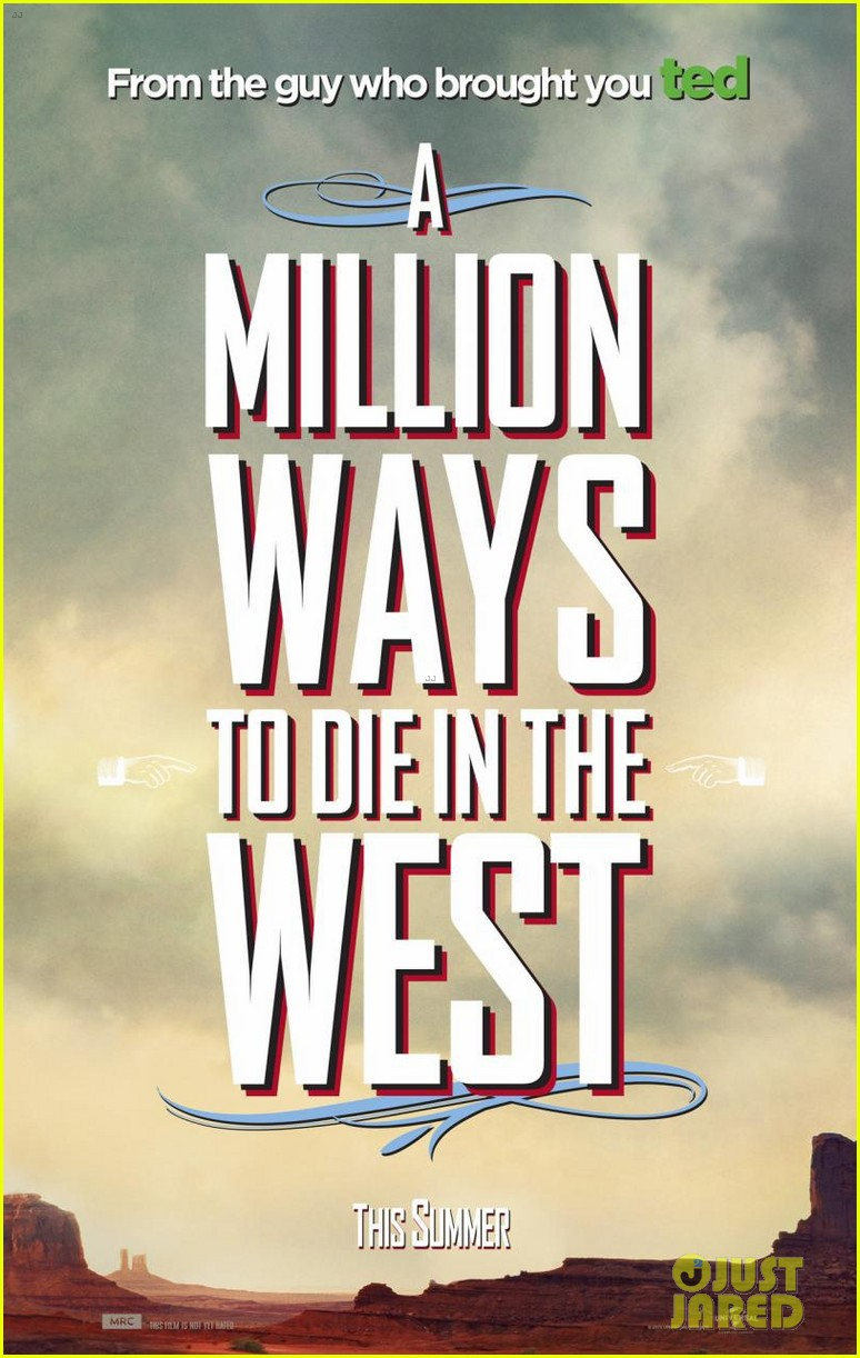 charlize theron is the smoking gun on million ways to die in the west character posters 06