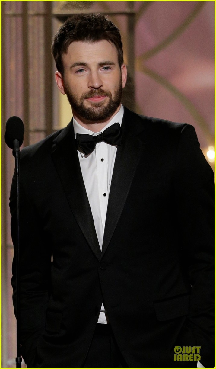 uma thurman chris evans golden globes 2014 presenters 02