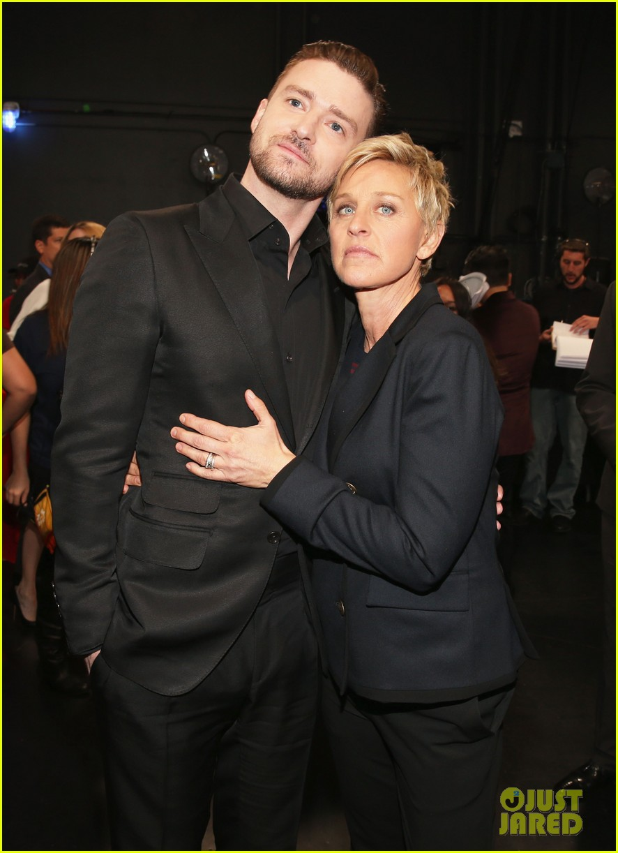 justin timberlakes peoples choice award almost stolen by ellen degeneres 09