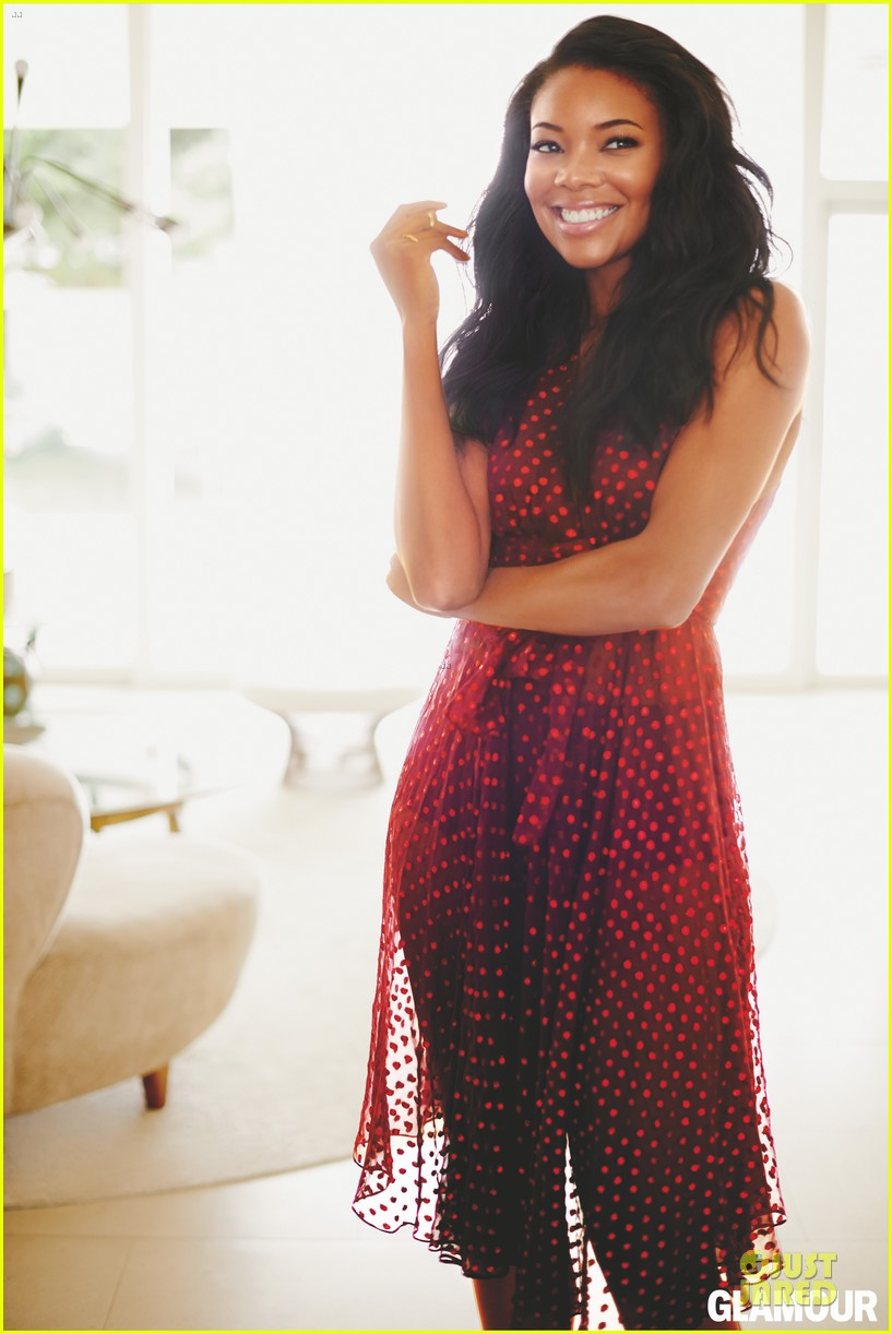 Gabrielle Union: 'Glamour' February 2014 Feature!: Photo ...