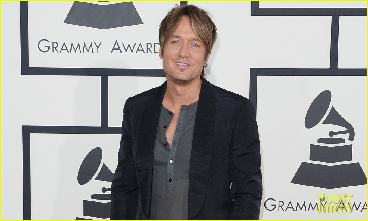 keith urban grammys 2014 red carpet 04