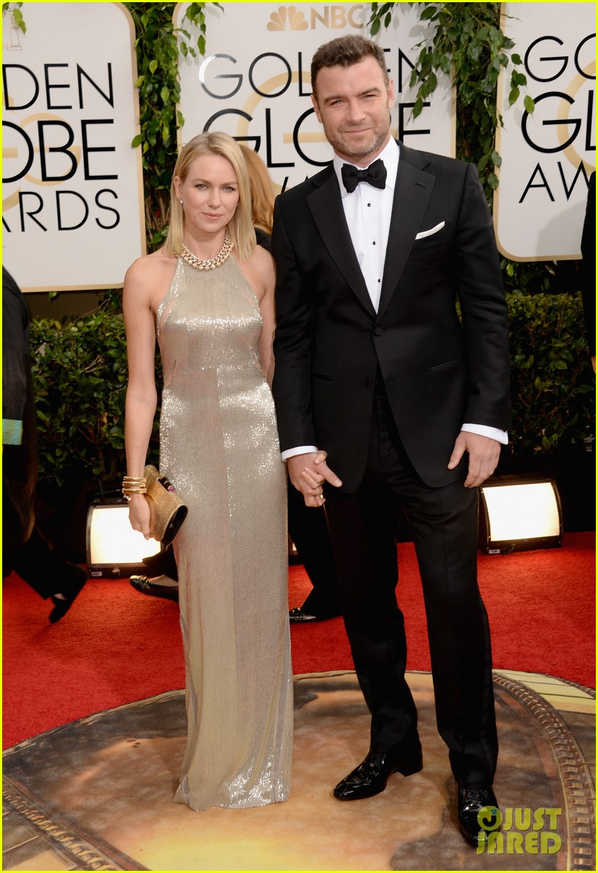 naomi watts liev schreiber golden globes 2014 red carpet 073029162