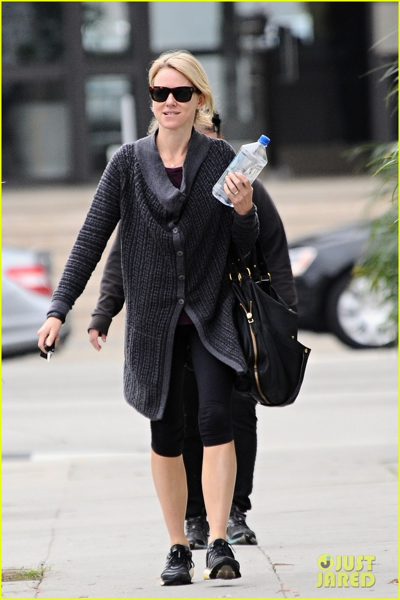 naomi watts works out after her fun girls night out 05