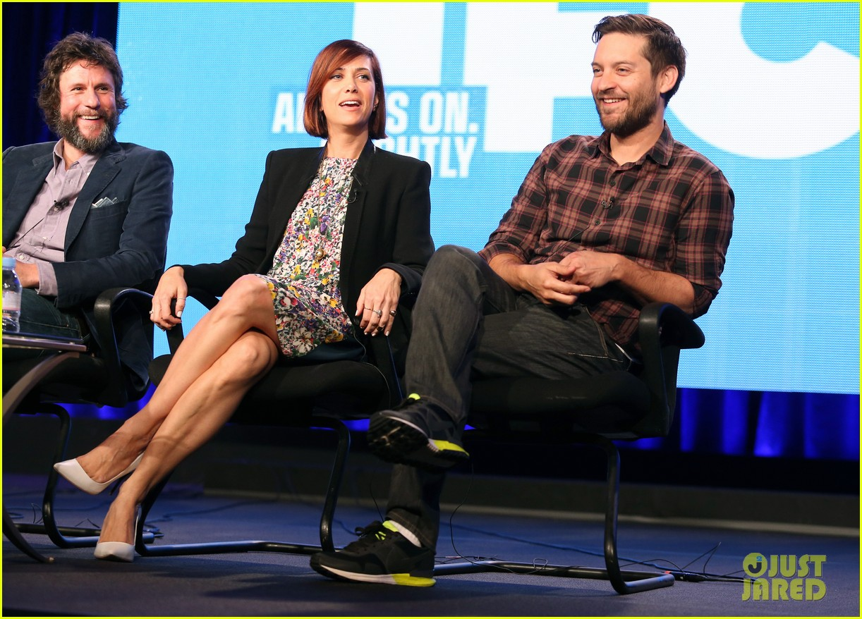 kristen wiig tobey maguire spoils of babylon tca panel 10