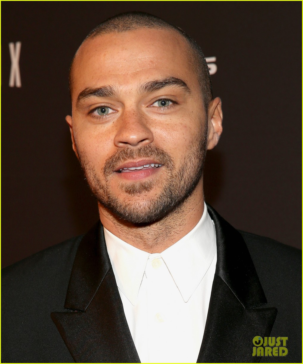 jesse williams weinsteins golden globes 2014 party 043029891