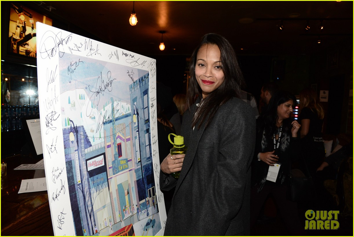 zoe saldana mark ruffalo infinitely polar bear sundance after party 05