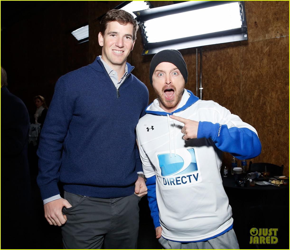 aaron paul james marsden directv beach bowl 2014 players 043045646