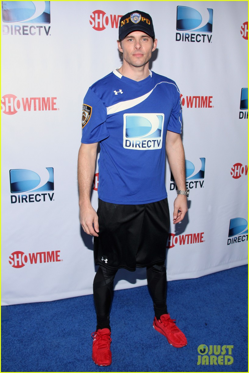 aaron paul james marsden directv beach bowl 2014 players 06