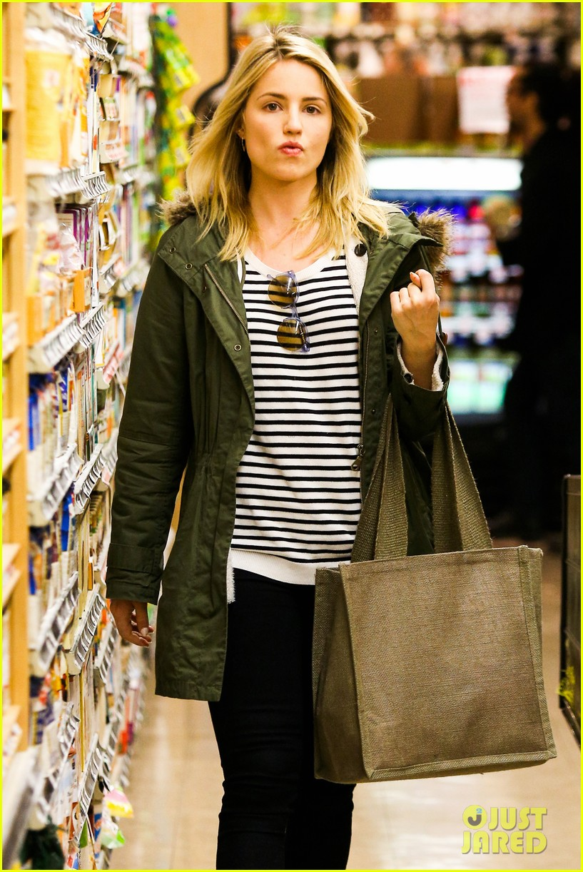 dianna agron chace crawford had a blast filming glee 043056272