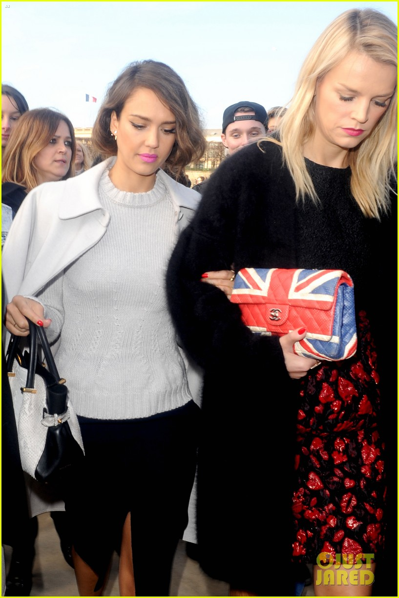 jessica alba attends nina ricci show with bff kelly sawyer 043061735