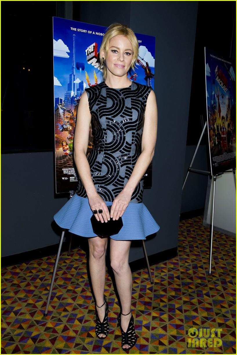 elizabeth banks chris pratt lego movie nyc screening 073048250