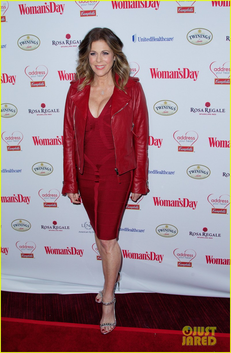 sara bareilles puts on her little red dress for womans day 05