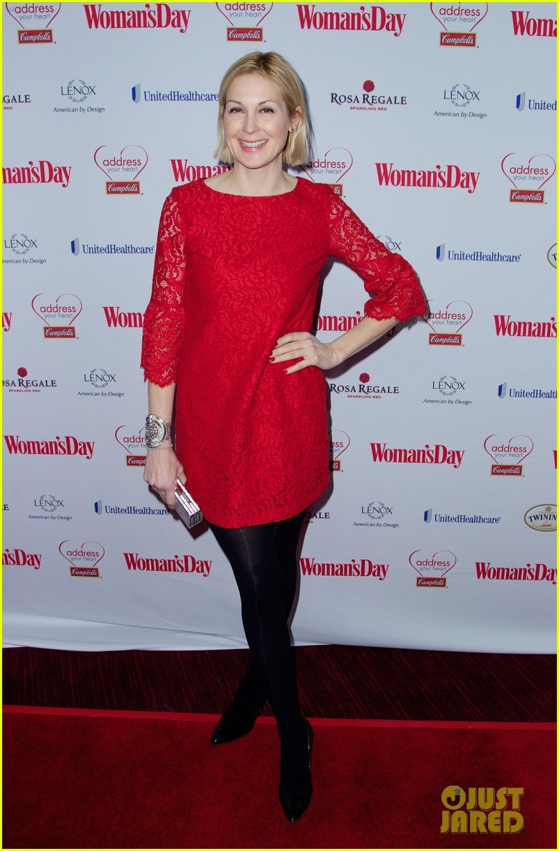 sara bareilles puts on her little red dress for womans day 12