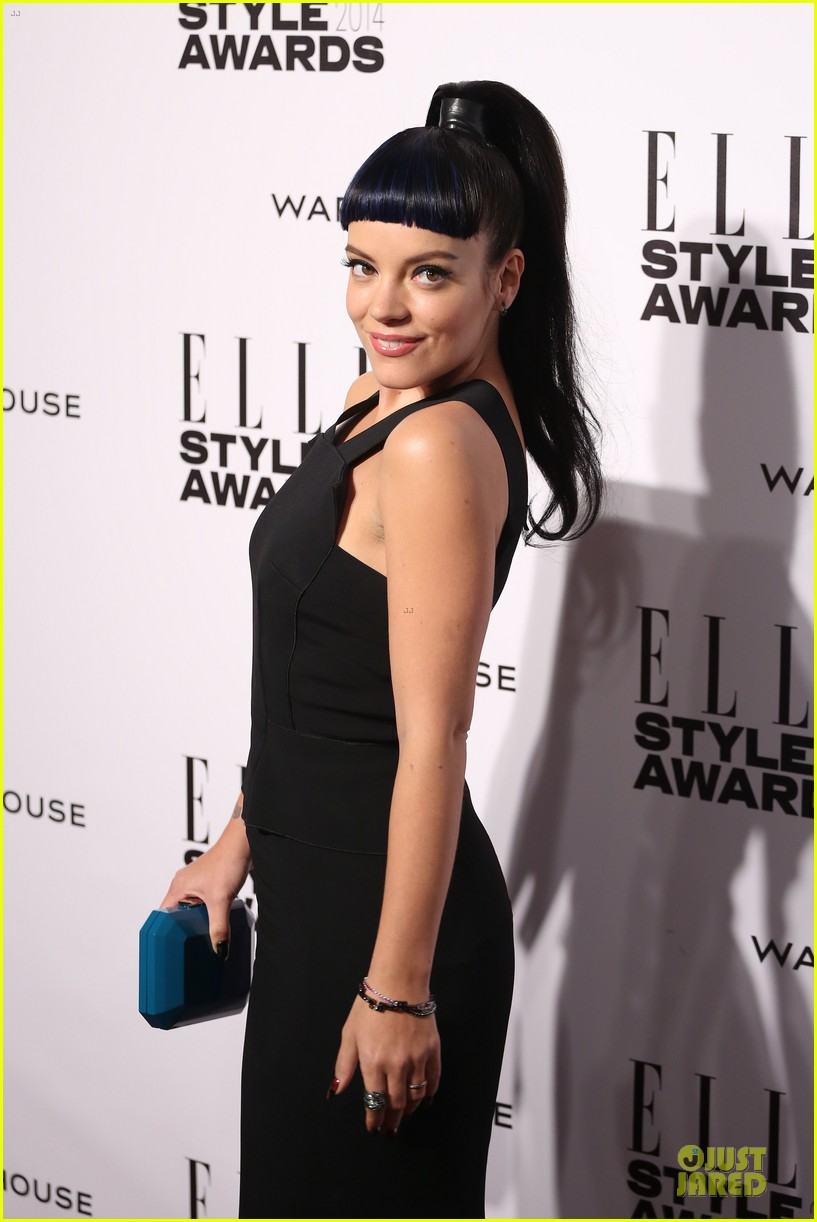 samantha barks felicity jones elle style awards 2014 093055849