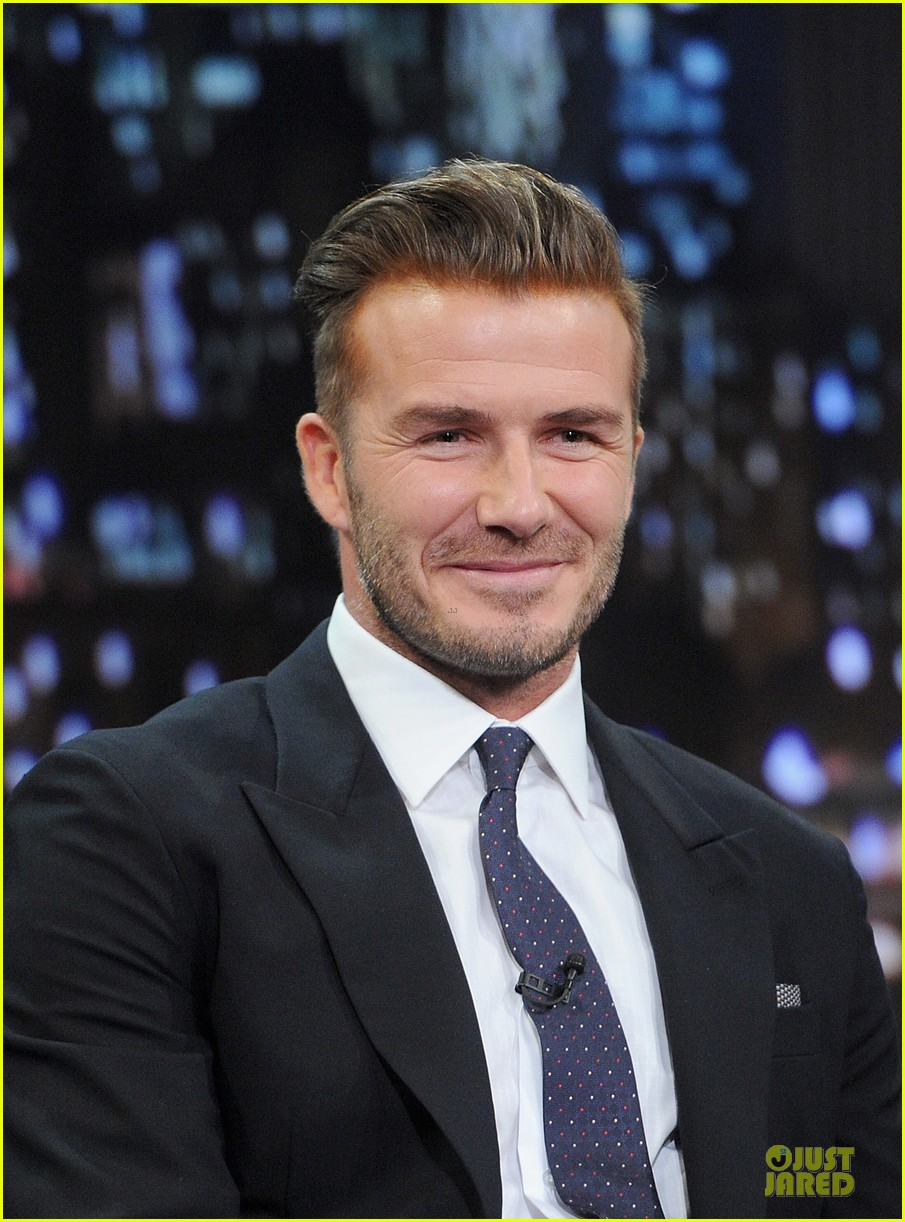 david beckham rocks yolk for egg russian roulette on fallon 07