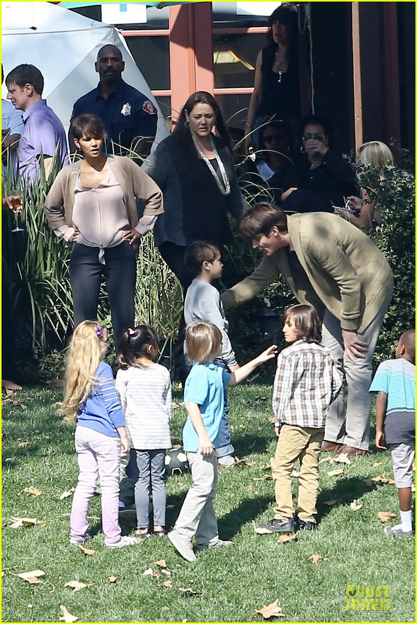 halle berry spends valentines day filming extant with goran visnjic 13
