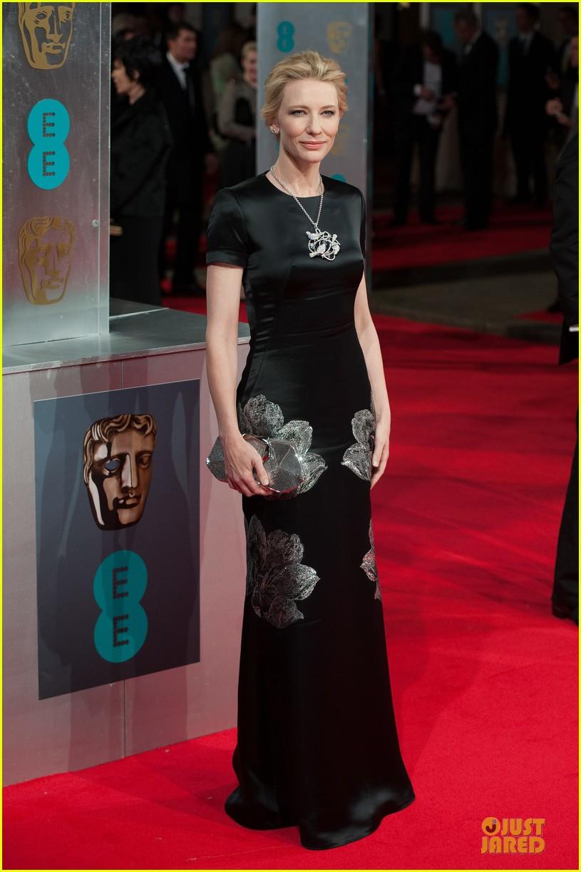 Full Sized Photo of cate blanchett baftas 2014 red carpet ... Cate Blanchett