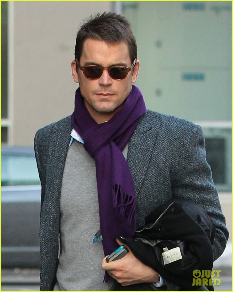 matt bomer partner simon halls check out of nyc hotel 023052227
