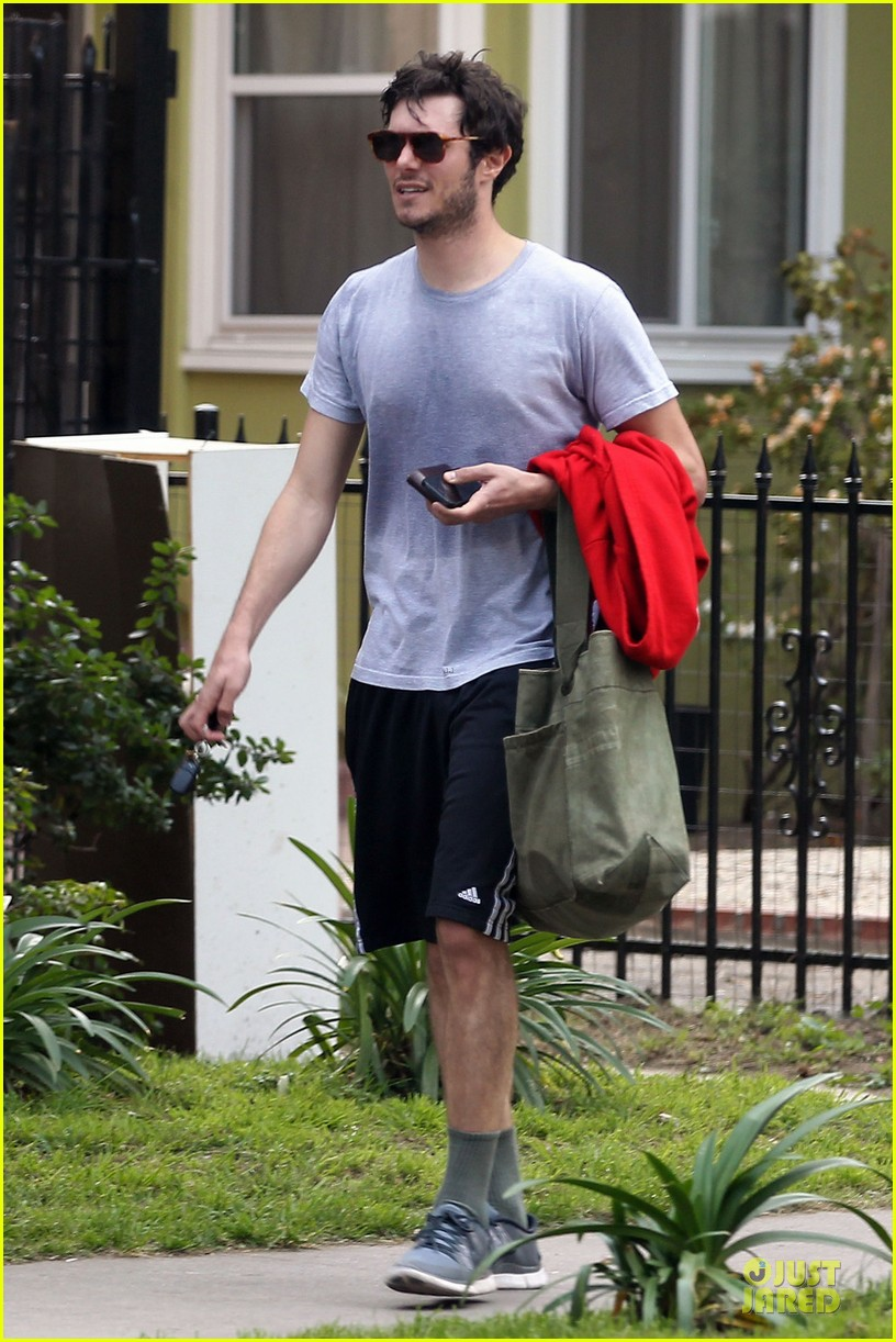 adam brody steps out with ring after wedding rumors 01
