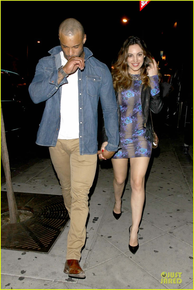 kelly brook brook mcintosh hold hands at 1 oak nightclub 113053858