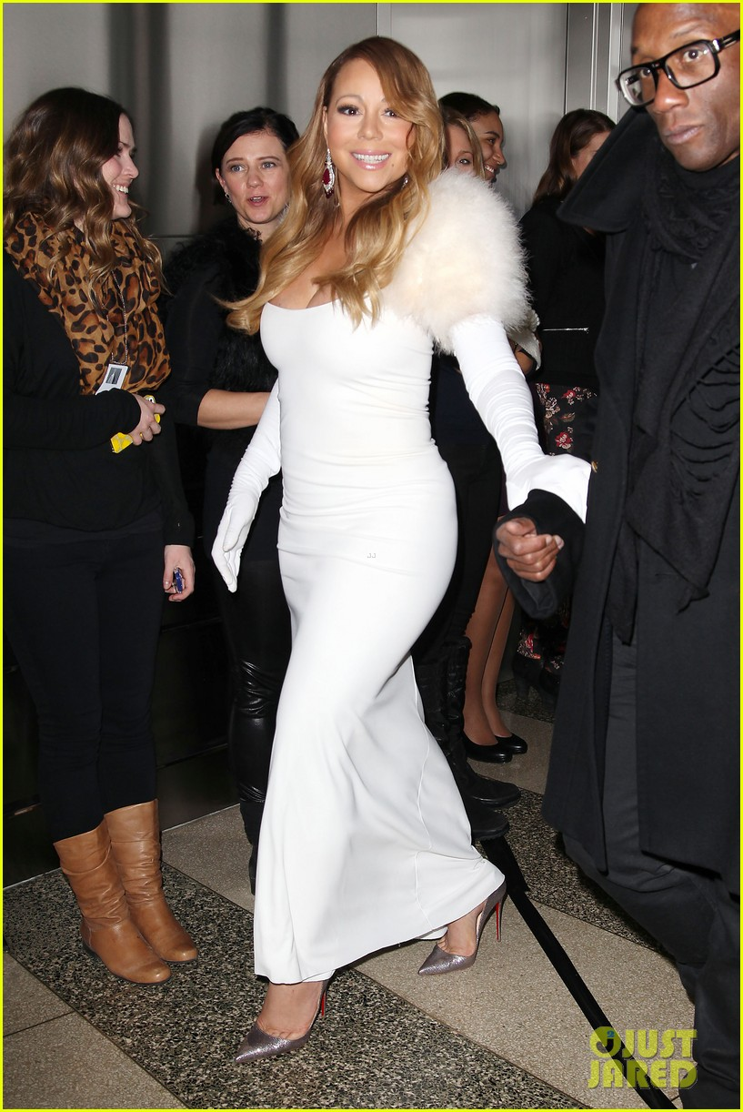 mariah carey lights empire state building for valentines day wedding event 113052912