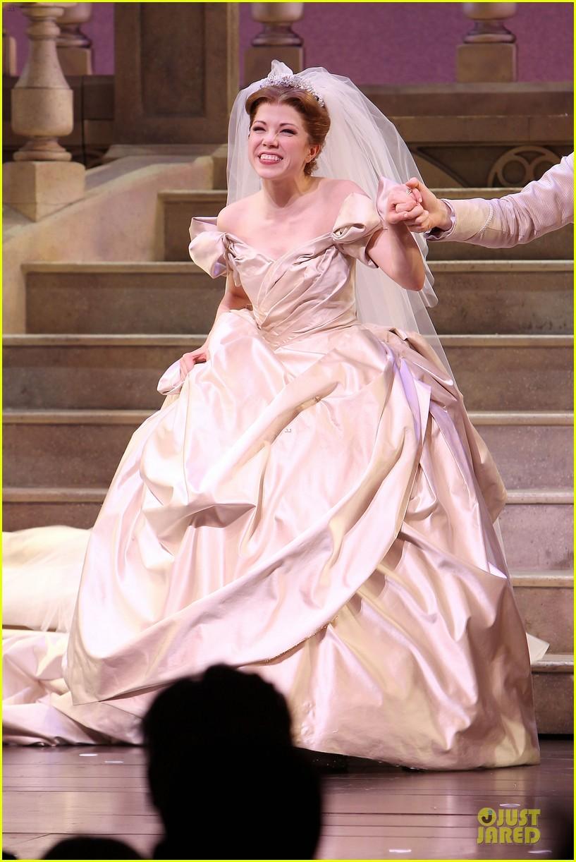 Carly Rae Jepsen Dons Wedding Dress for \'Cinderella\' Curtain Call ...