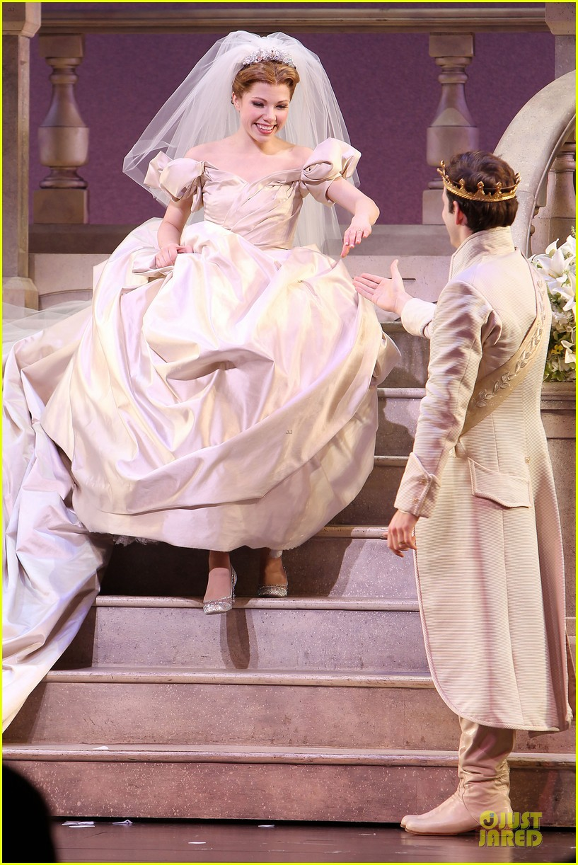 carly rae jepsen dons wedding dress for cinderella curtain call 12