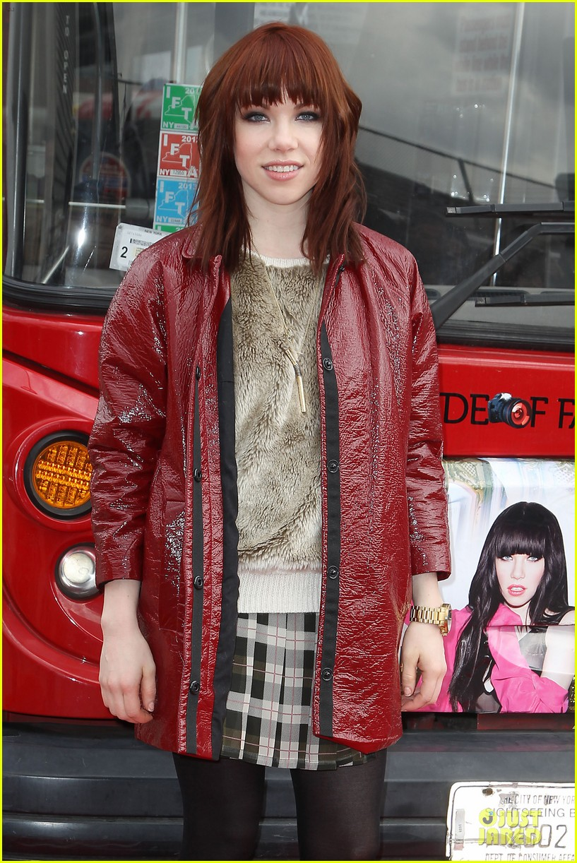 carly rae jepsen honoree at gray line ride of fame event 123060501