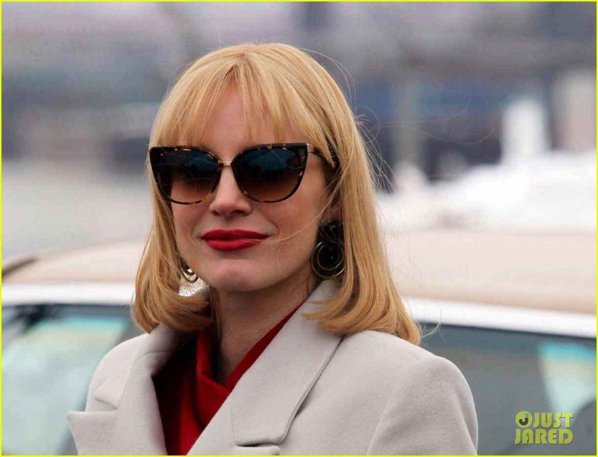 jessica chastain posts most violent year sneak peek pic after wrapping filming 01